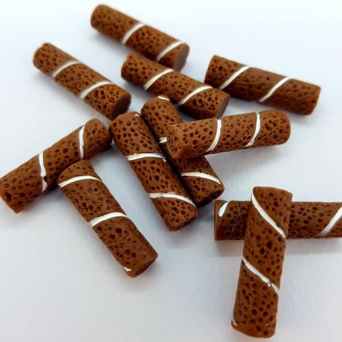 Шармик для слайма Палочка с шоколадом