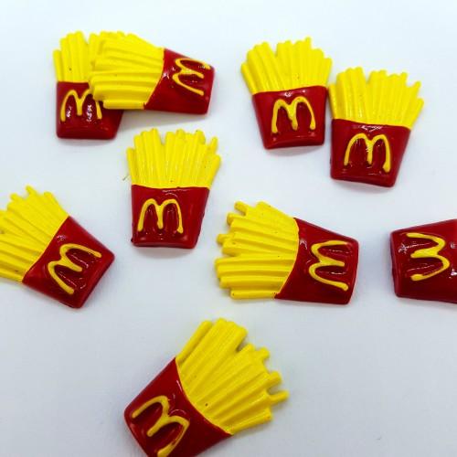 Шармик для слайма Картошка фри МакДоналдс