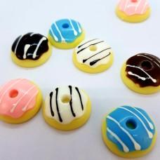 Шармик для слайма Пончик разноцветный