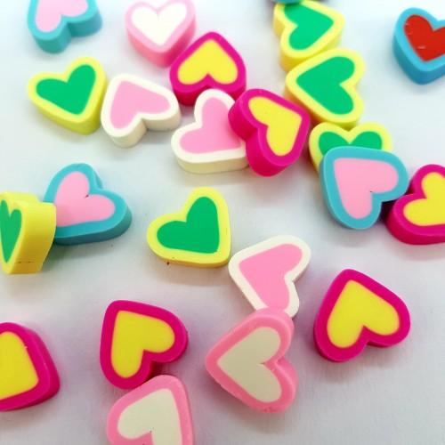 шармик Сердечко цветное