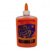 Клей для слаймов Dr.Fan светящийся в темноте 250 мл оранжевый