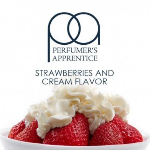ароматизатор TPA Клубника со сливками (Strawberries and Cream)