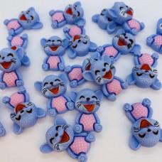 Шармик для слайма Мыша голубая