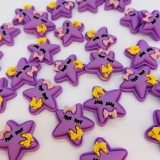 Шармик для слайма Звёздочка фиолетов