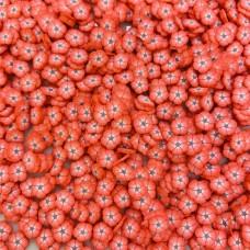 Посыпка фимо Цветочки красные