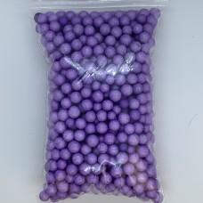 Шарики пенопластовые фиолетов  крупные