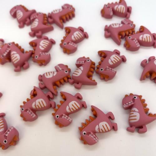 Шармик для слайма Динозавр розов