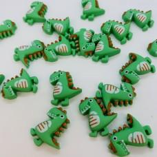 Шармик для слайма Динозавр зелёный