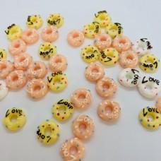 Шармик для слайма Пончики маленькие Love