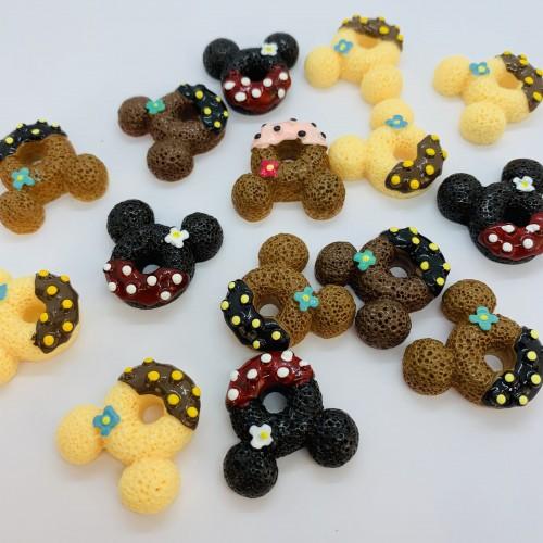 Шармик для слайма Пончик Микки 2
