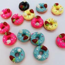 Шармик для слайма Пончик с ягодкой