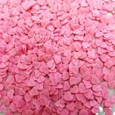 Посыпка фимо Сердечки Love розов
