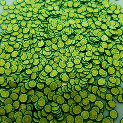 Посыпка фимо Лайм зеленый