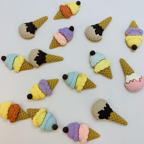 Шармик для слайма Мороженое шарики